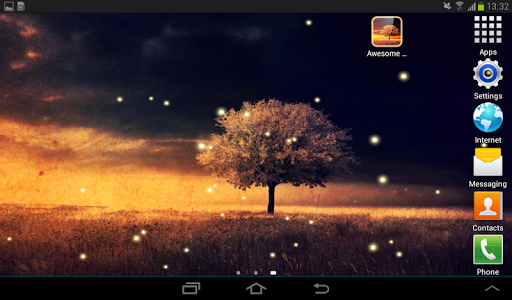 Awesome-Land Live wallpaper HD : Grow more trees screenshot 13