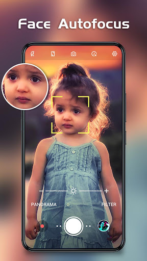 HD Camera - Beauty Cam with Filters & Panorama screenshot 2