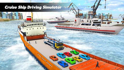 Cruise Ship Transport Car Game screenshot 2