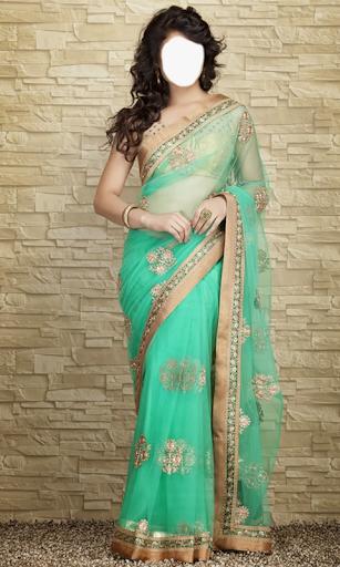 Indian Woman  Designer Saree 4 تصوير الشاشة