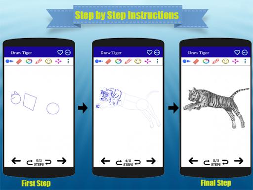كيفية رسم الحيوانات واقعية مع قلم رصاص - مجانا 3 تصوير الشاشة