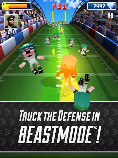 Marshawn Lynch Blocky Football screenshot 17