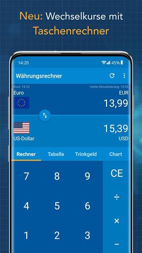 Currency Converter Finanzen100 screenshot 1