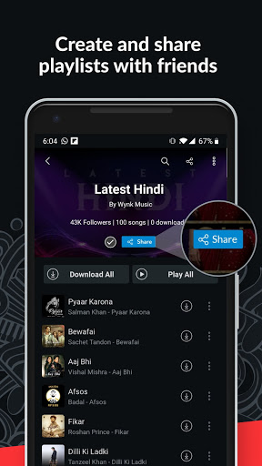 Wynk Music- New MP3 Hindi Tamil Song & Podcast App screenshot 8