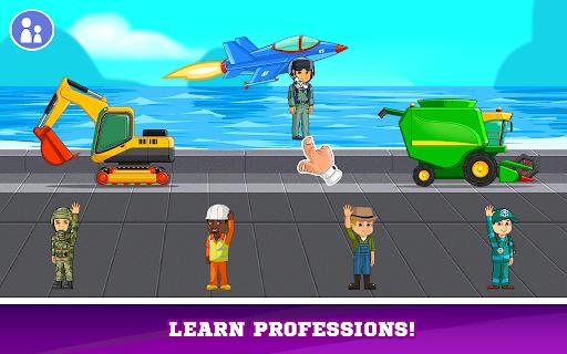 Kids Cars Games! Build a car and truck wash! screenshot 7