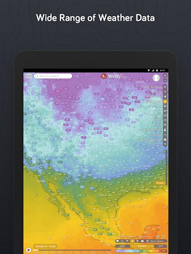 Windy.com: pronóstico de vientos, olas y huracanes screenshot 9