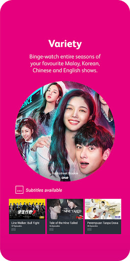 Astro GO - TV Series, Movies, Dramas & Live Sports 5 تصوير الشاشة