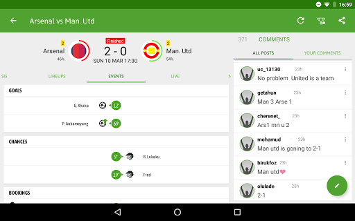 BeSoccer - Soccer Live Score screenshot 11