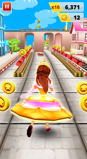 Princess Run Game 6 تصوير الشاشة