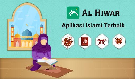 Al Hiwar- Waktu Salat Muslim,Adzan,Qur'an&Kiblat screenshot 8