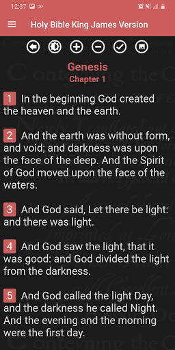 Holy Bible King James Version (Free) screenshot 2