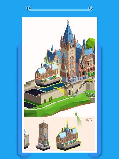 Pocket World 3D - Assemble models unique puzzle screenshot 8