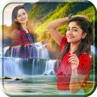 Waterfall Photo Blender - Waterfall  Photo Editor on 9Apps