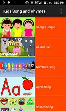 Kids Video Song and Rhymes screenshot 1
