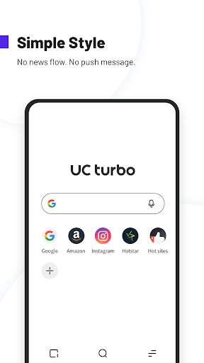 UC Browser Turbo- Fast Download, Secure, Ad Block screenshot 2