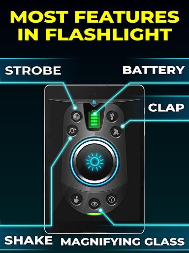 Flashlight 🔦🌟💡 screenshot 9