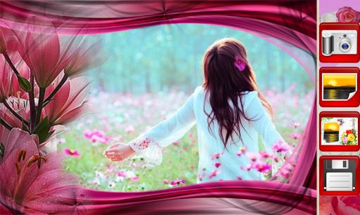 Flowers Photo Frames скриншот 4