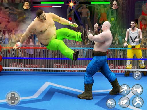 بطولة المصارعة العالمية لبطولة الفرق 7 تصوير الشاشة