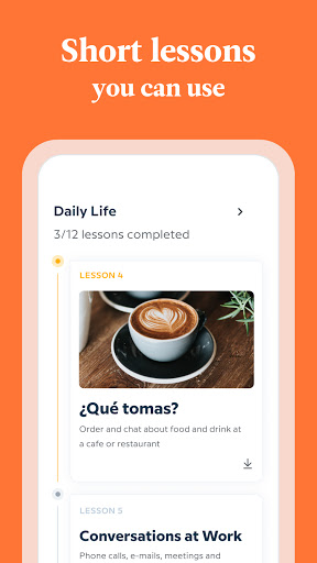 Babbel - Learn Languages - Spanish, French & More 3 تصوير الشاشة