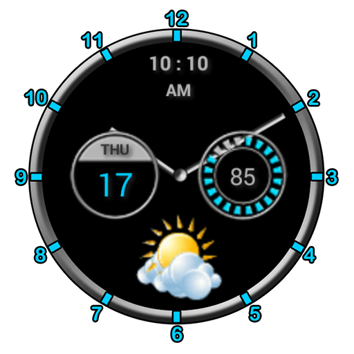 Super Clock Widget [Free] иконка