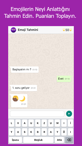 Emoji Tahmin Oyunu screenshot 2
