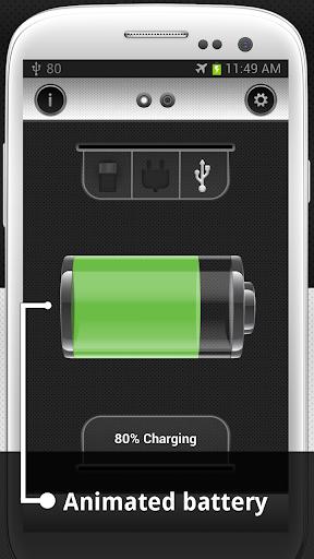 Show Battery Percentage 5 تصوير الشاشة