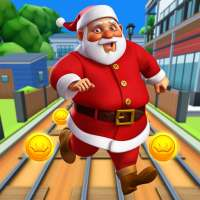 Subway Santa Xmas Run on 9Apps