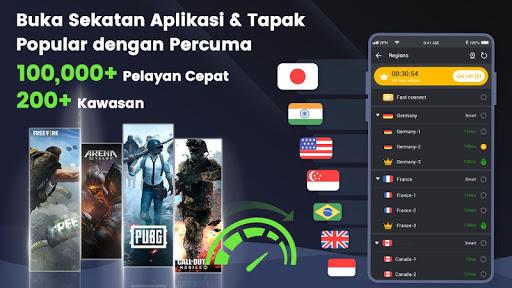 3X VPN - Melayari dengan selamat screenshot 1
