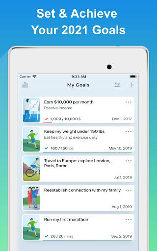 Success Life Coach - Goal Planner & Habit Tracker screenshot 9