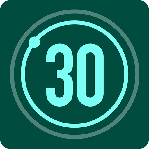 تحدي اللياقة في 30 يوماً أيقونة