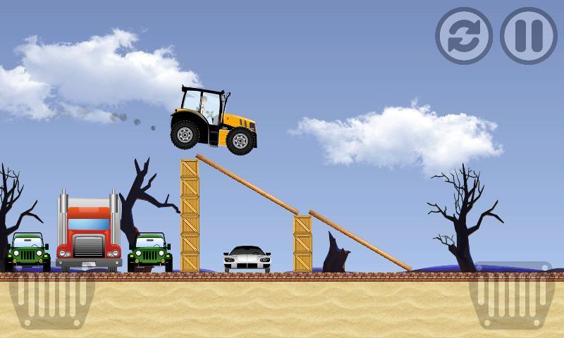 Tractor Farm Power Racing 2 تصوير الشاشة