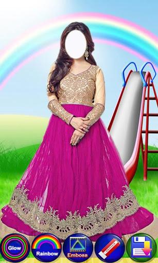 Salwar Suit For Girls : Women Salwar Photo Suit 3 تصوير الشاشة