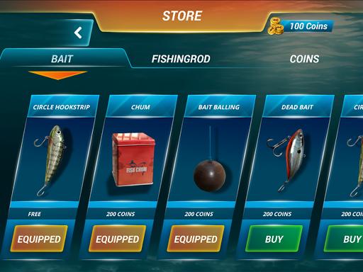 ألعاب صيد السمك البحر الرياضة الصيد محاكي 8 تصوير الشاشة