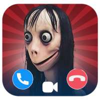 Momo scary fake call video and voice and chat on APKTom