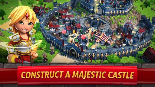 Royal Revolt 2: إمبراطورية RPG - حرب جيش تصادم 5 تصوير الشاشة