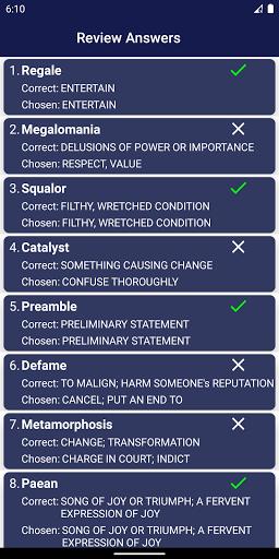 Vocabulary Builder screenshot 6