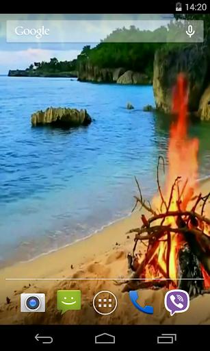 Bonfire Video Live Wallpaper screenshot 5