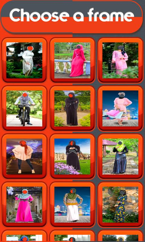 Hijab Fashion Photo Maker - Photo Editor 2 تصوير الشاشة