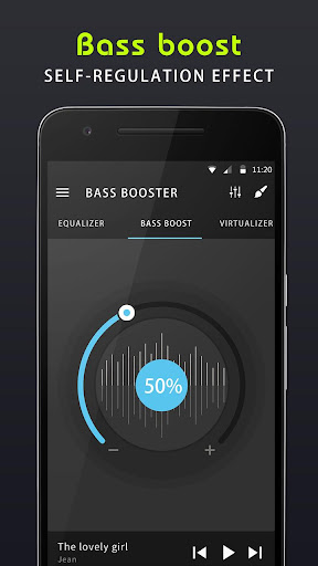 Equaliser musik & Penguat bass screenshot 4