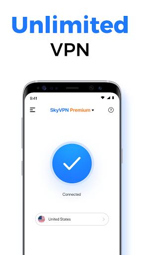SkyVPN-Best Free VPN Proxy for Secure WiFi Hotspot screenshot 1