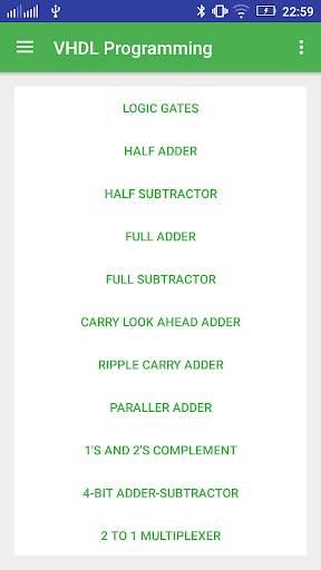 VHDL Programming screenshot 1