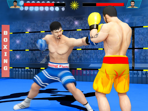 Real Punch Boxing Games: Kickboxing Super Star screenshot 8