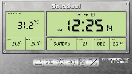درجة الحرارة منبه 9 تصوير الشاشة