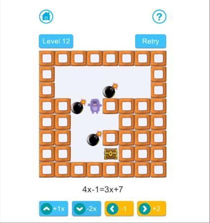 Algebra Maze screenshot 1