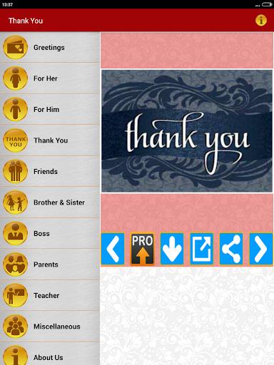 Thank You Greeting Card Images screenshot 19