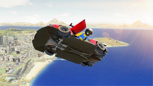 Stickman Superhero Car Stunt GT Racing screenshot 1