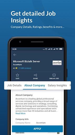Naukri.com Job Search App: Search jobs on the go! 2 تصوير الشاشة