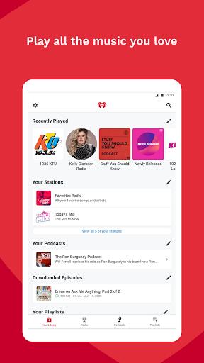 iHeartRadio: Radio, Podcasts & Music On Demand 9 تصوير الشاشة