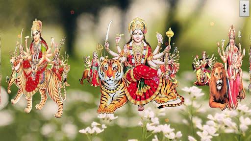 4D Maa Durga Live Wallpaper 17 تصوير الشاشة