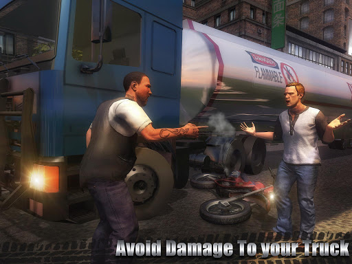 石油貨物輸送トラック screenshot 15